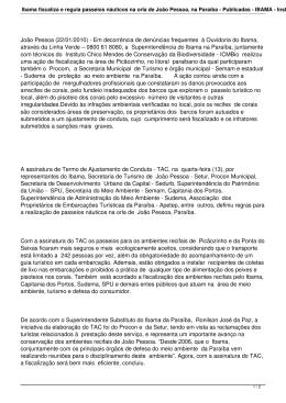 Ibama fiscaliza e regula passeios náuticos na orla de João Pessoa