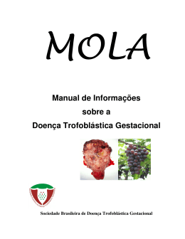 Manual de Informações sobre a Doença Trofoblástica