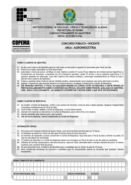 COPEMA - Concursos IFAL - Instituto Federal de Alagoas