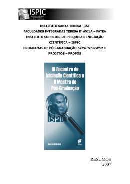 INSTITUTO SANTA TERESA - IST