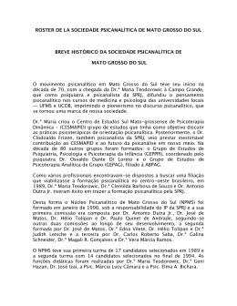 Sociedade Psicanalítica de Mato Grosso do Sul