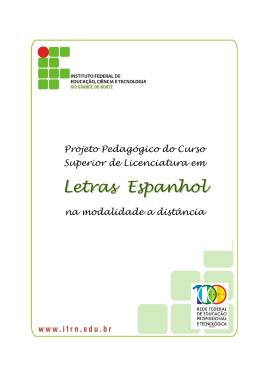 Licenciatura em Letras Espanhol - IFRN