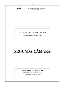 ATA-TCU - Tribunal de Contas da União