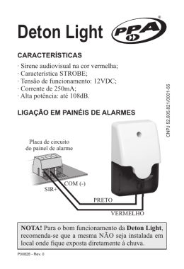 Manual de Instruções Deton Light_Rev0