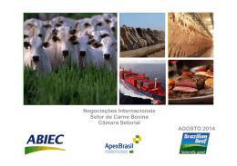 Negociações Internacionais - Ministério da Agricultura
