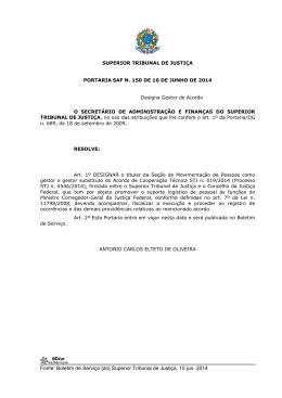 Superior Tribunal de Justiça, 10 jun. 2014
