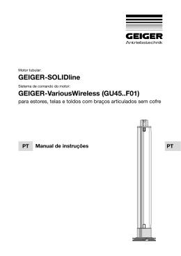 GEIGER-SOLIDline GEIGER-VariousWireless (GU45..F01)
