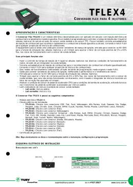 TFLEX4 - Distribuidora de peças e kit gnv Lovato