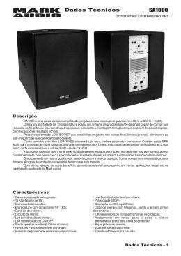 SA1000 Dados Técnicos.cdr