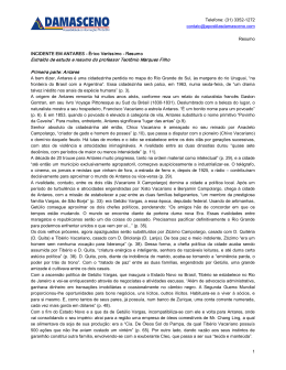 RESUMO - Incidente em Antares