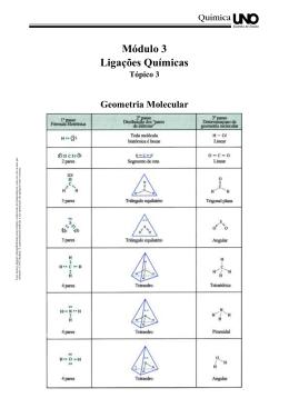 Módulo 3 Ligações Químicas