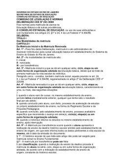COMISSÃO DE LEGISLAÇÃO E NORMAS - CAp