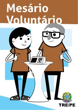 Mesário Voluntário - TRE - Tribunal Regional Eleitoral de Pernambuco
