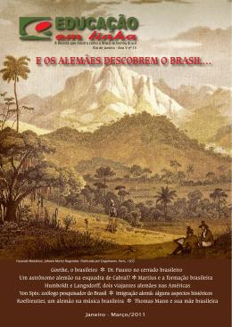E os alEmãEs dEscobrEm o brasil…