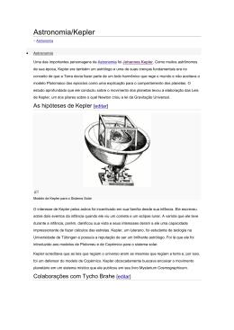 Astronomia de kepler