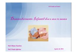 Desenvolvimento Infantil dos 0 aos 12 meses