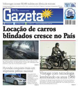 edição 2468 - Jornal Gazeta do Estado