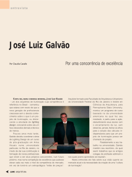 José Luiz Galvão - Lume Arquitetura