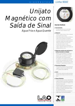Unijato Magnético com Saída de Sinal