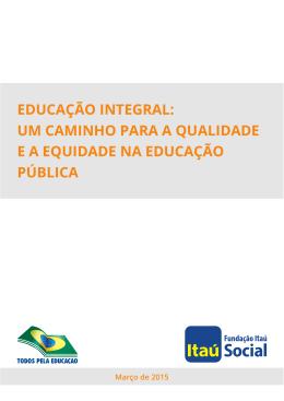 educação integral - Observatório do PNE