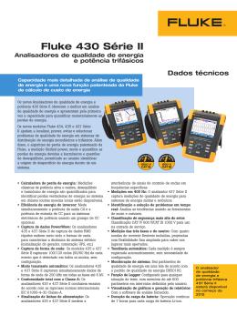 Fluke 430 Série II