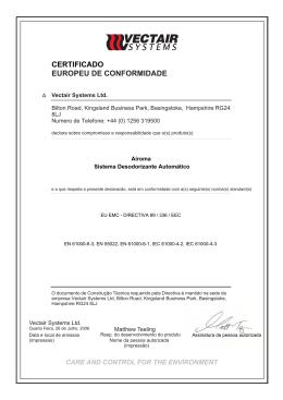 CE CERTIFICATE VTAC 600.cdr