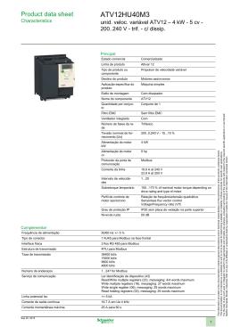ATV12HU40M3 - Controller Elevadores