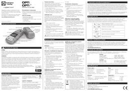Operação básica Visão geral do instrumento Detalhes do fabricante