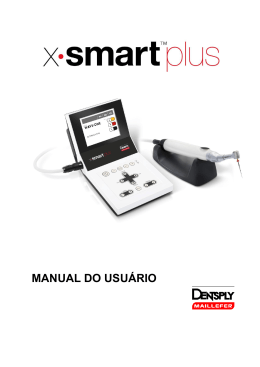 MANUAL DO USUÁRIO - Dental Speed Graph
