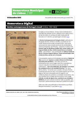 revista contemporânea de portugal e brasil