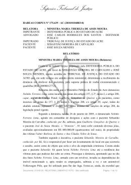 STJ - Habeas corpus 175639