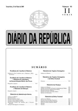 SUMÁRIO - Direcção Regional de Educação do Alentejo