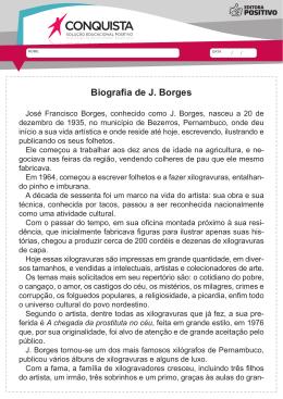 Biografia de J. Borges