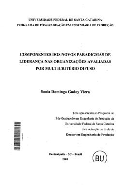 COMPONENTES DOS NOVOS PARADIGMAS DE LIDERANÇA