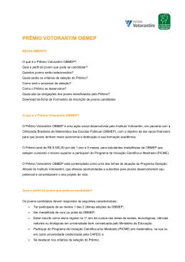 Prêmio Votorantim OBMEP