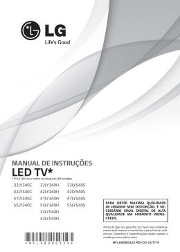 manual de instruções led tv