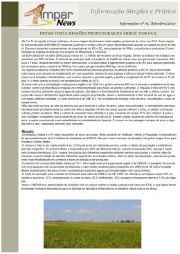 Informação Simples e Prática - impar consultoria no agronegócio