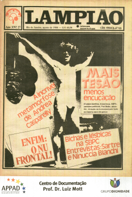 Edição 27 – agosto 1980