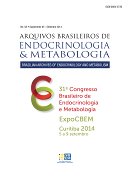 PDF - 2.5 MB - Archives of Endocrinology and Metabolism