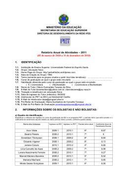 Educação Física - Universidade Federal do Espírito Santo