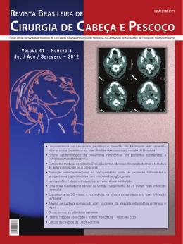 Revista SBCCP 41(3).indd - Sociedade Brasileira de Cirurgia de