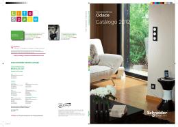 Catálogo Odace 2012
