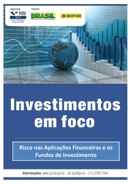 Risco nas Aplicações Financeiras e os Fundos de