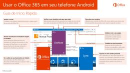 Usar o Office365 em seu telefone Android