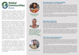 Quem é Global Communities Brasil