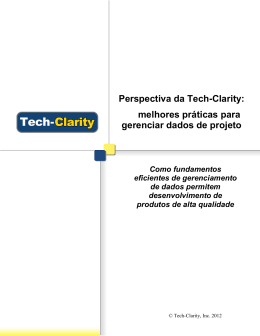 Perspectiva da Tech-Clarity