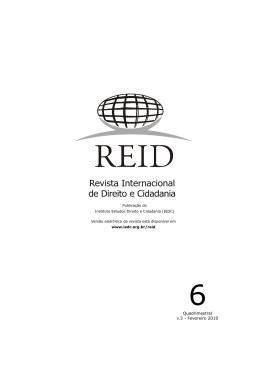 Quadrimestral v.3 - Fevereiro 2010 - revista internacional direito e