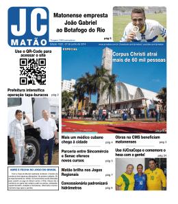Matonense empresta João Gabriel ao Botafogo do Rio