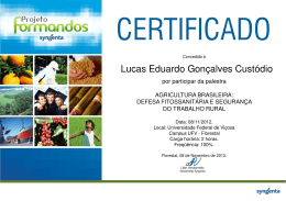 Lucas Eduardo Gonçalves Custódio - no portal da UFV