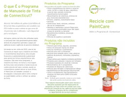 Recicle com PaintCare